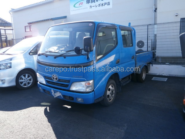 USED RIGHT HAND DRIVE TRUCK TOYOTA DYNA W CABINET 2008 ADF-KDY231 LESS MILEAGE AND GOOD CONDITION