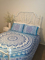 Doona CoverDoona Cover, Mandala roundie, throw, bedding, boho, blanket, beach, ,girls, art, bedroom, bohemia hippy, bedspread,