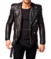 Best Selling Motorcycle Leather Custom Man Jackets