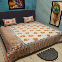 Traditional Mafia - Ethnic Collection - 3pcs cotton bedding set king size