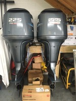 Free Shipping For Used Yamaha 225 HP 4 Stroke Outboard Motor