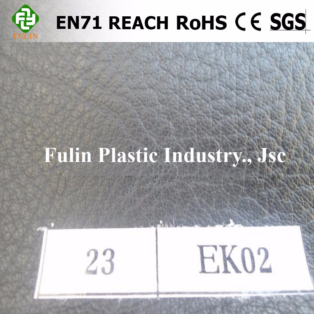soft pvc leather for bag / vacuum embossed pvc bag leathe