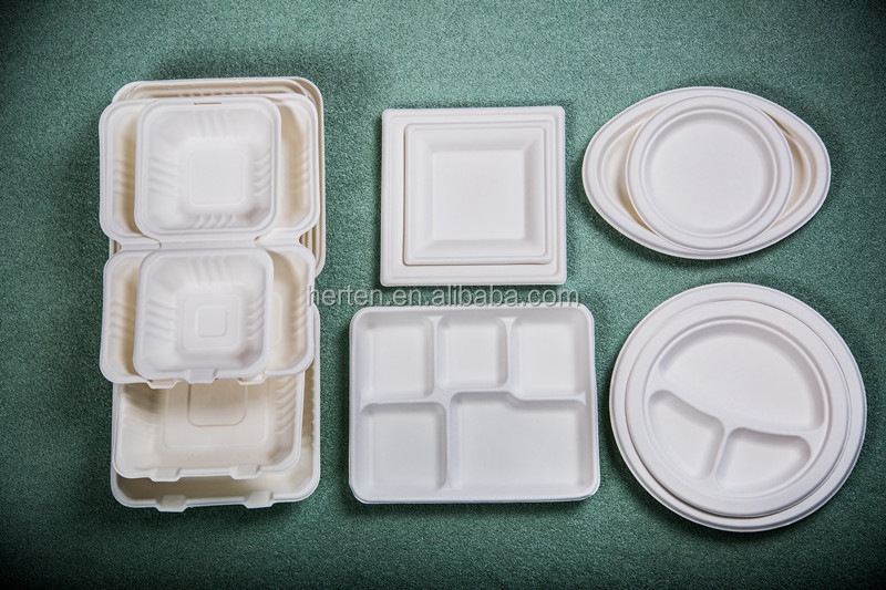 China supply 7inch eco-friendly oval disposable plastic plate