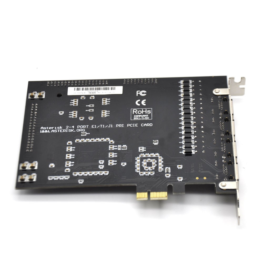4 E1 PCI-E asterisk card