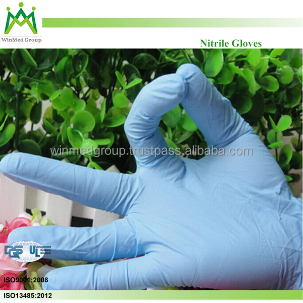 Disposable Vinyl Gloves Non Sterile Powder Free Powder Free Nitrile Examination Gloves Chlorinated Latex Gloves Powder Free