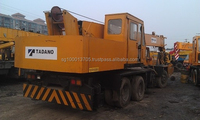 used new model original tadano truck crane 25ton with nissan engine in shanghai in china