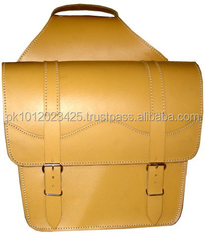 Motorbike Leather Saddlebag WS-1067