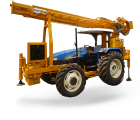 High efficiency and low price tractor mounted water well drilling rig