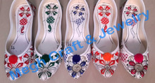 Wholesale Fancy Juti - embroidery Shoes sleeper juti - Punjabi Juti - Indian Beaded Shoes 2015