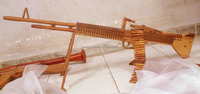 Wooden gun model - M60 (full size)