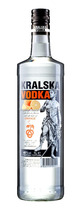 KRALSKA VODKA - Orange flavored - 40% ABV - 1L.