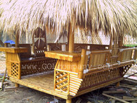 [wholesale] Bambus Gazebo / Bar - Bamboo Pergola / Pavilion / House - Bamboo furniture for Resort / Restaurant