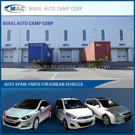 Spare parts for Hyundai i10, i20, i30, i40 etc