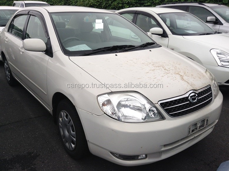 RECYCLED AUTOMOBILES FOR TOYOTA COROLLA 4D G NZE121 FOR SALE IN JAPAN