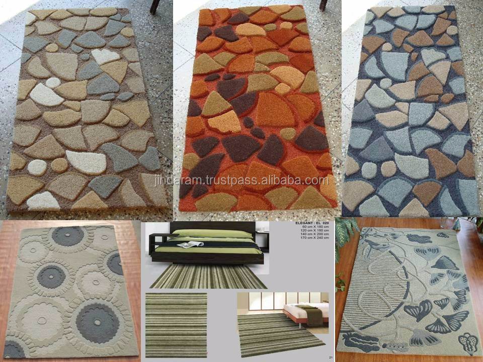 High quality acrylic home carpets