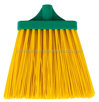 Low price plastic street sweeper / cleaning broom long fiber