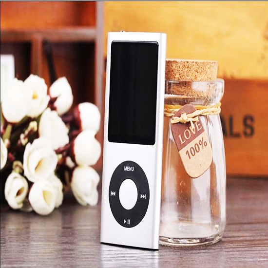 Slim 1.8''/2.2'' 8GB 16GB Digital MP3 MP4 Player