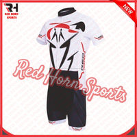 Customized Coolmax Road Cycling Jersey and Padded Short, Anti UV