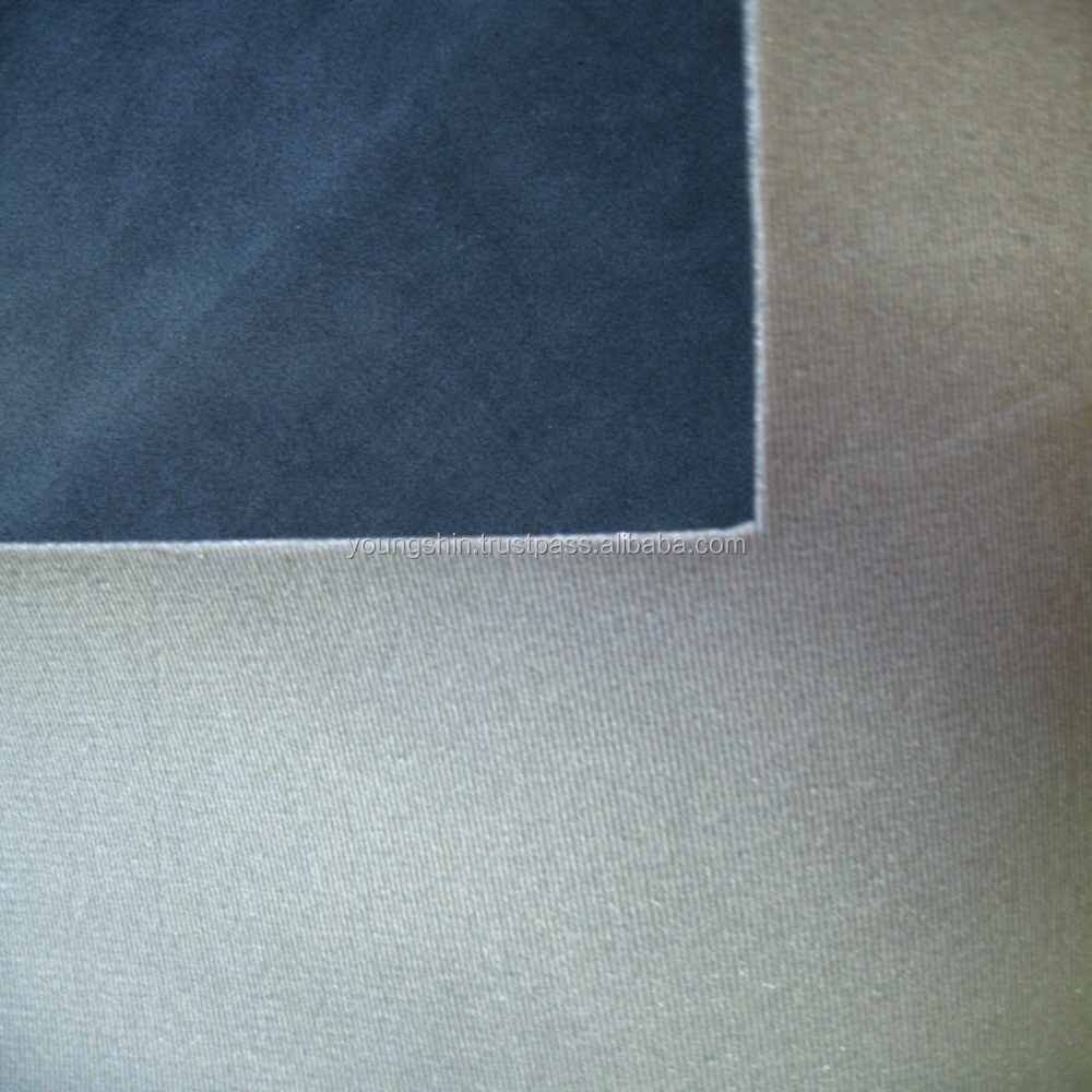 Microfiber Leather with Foam Backing