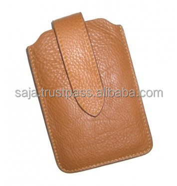 Cow leather bag for cell phone SCC-007