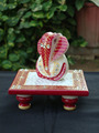 marble Handicrafts home decor gift arts and crafts Choki Ganpati Chowki Ganesha