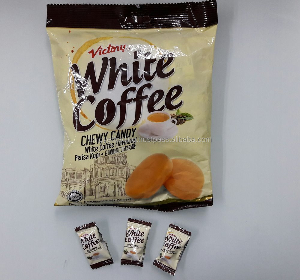 White Coffee Chewy Candy