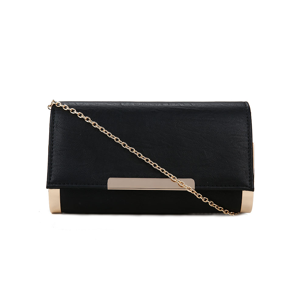Girls Faux Leather New Evening Bag, Wholesale Women Gorgeous Clutch