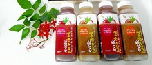 Fresh and healthy fruit juice from dragon fruit