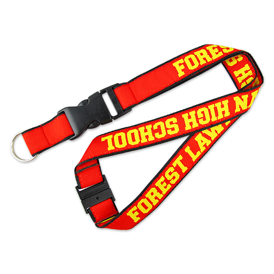 Wholesale Imitation Leather Lanyard with Logo Custom