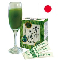 "Dieting and Anti-Aging herbal Product "" Aojiru Zanmai Lite "" with Many kinds of Nutrients Made in Japan"
