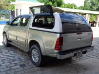 Fiberglass pick up truck canopy hard top 4x4