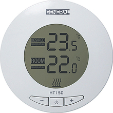Digital Large LCD Screen, High Quality, Room Thermostat, HT 150 , Calibration Settings