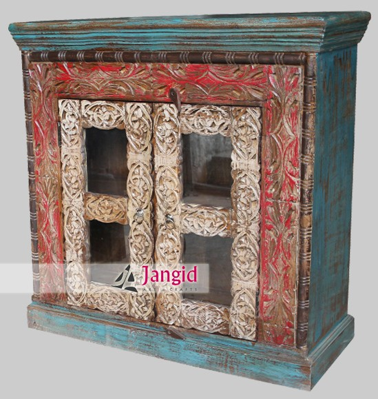 wooden artistic handicrafted indian furniture