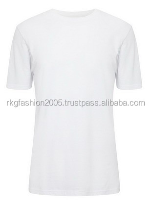Men White basic t-shirt from Bangladesh