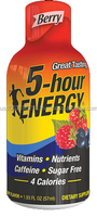 5 hour Energy Drink dietary supplement - Berry Made in USA