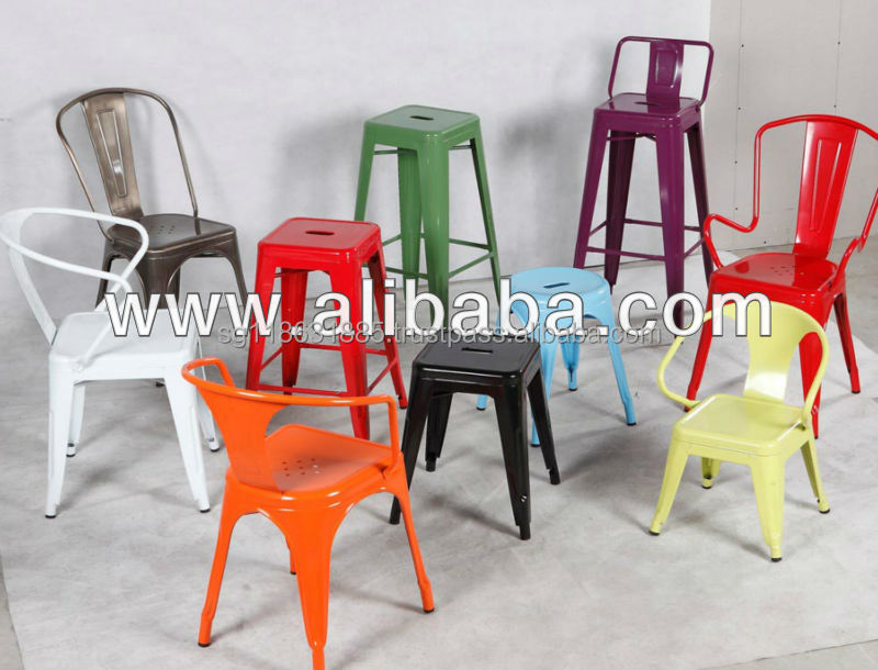 Various type of metal chair for your requirements
