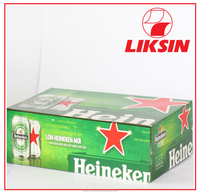 Liksin ISO 9001:2008 Beverage Corrugated Packaging Box/ Cardboard box/ Carton box