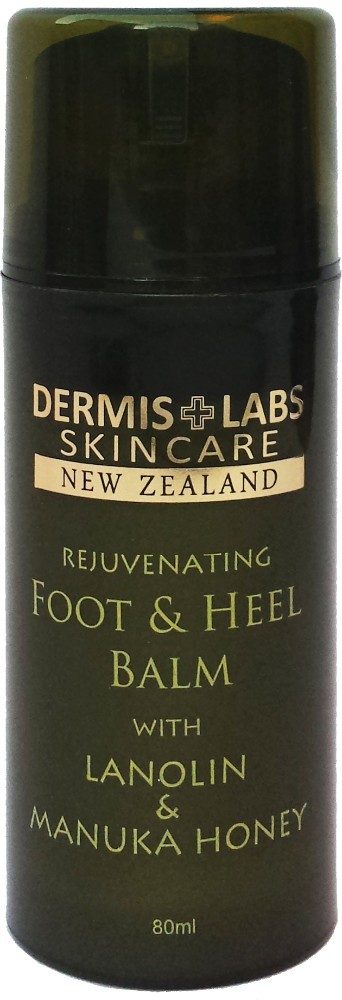 DermisLabs Skincare New Zealand - Foot and Heel Balm with Lanolin and Manuka Honey