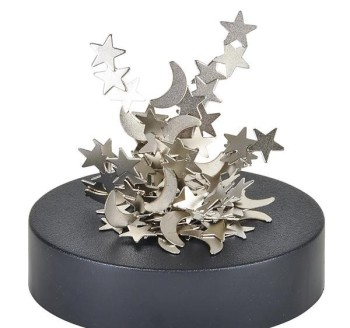 MAGNETIC STAR AND MOON SCULPTURE
