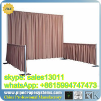 kaiyue fashional aluminum portable mobile wedding stage backdrop
