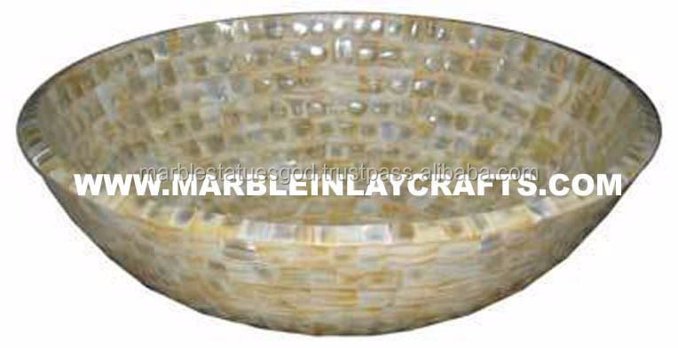 Handmade Mother Of Pearl Sink Bowls