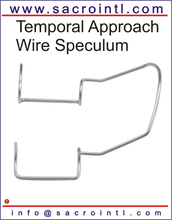 Temporal approach wire speculum open wire EYE INSTRUMENTS