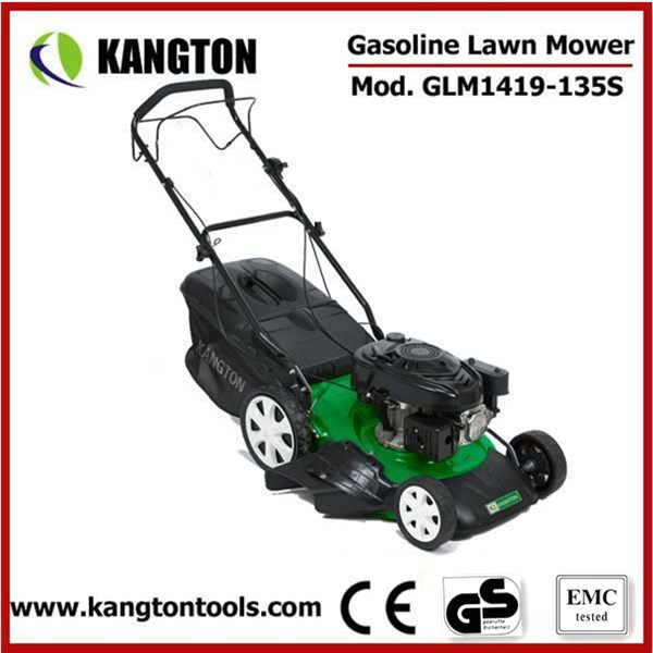 Gasoline Self Propelled Lawn Mower Petrol Push Lawn Mower