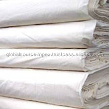 100% GREY COTTON WOVEN FABRIC CLOTH