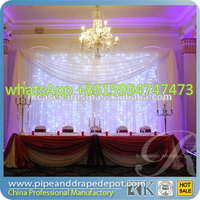 High Quality pipe and drape systems backdrop kits/backdrop pipe and drape