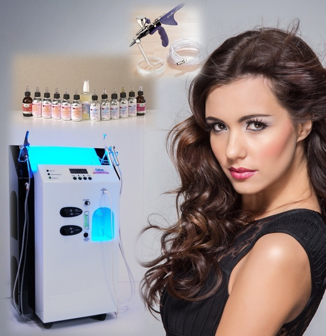 Oxygen facial / o2 skin care from Italy: ODUE SKIN EXAR beauty oxygen injection machine
