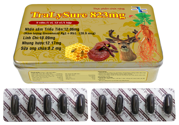 Korean Ginseng supply TRALY SURE - Functional food Viet Nam, reducing stress and allergies & preventing cancer