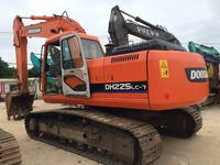 DOOSAN DH 225 - 7 EXCAVATOR USED FOR SALE