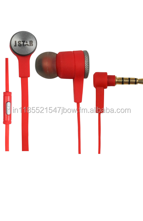Active noise cancelling Silent sleeping in-ear style 2 pin earphone with microphone