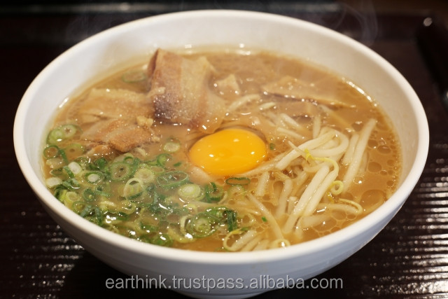 japanese noodle Hot-selling very very delicious Japanese Tonkotsu (pork broth) Ramen Noodles 5 servings